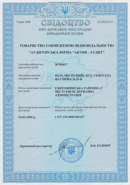 ТОВ Актив-аудит